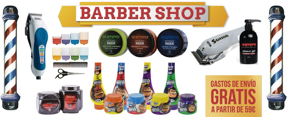 `productos de barbershop